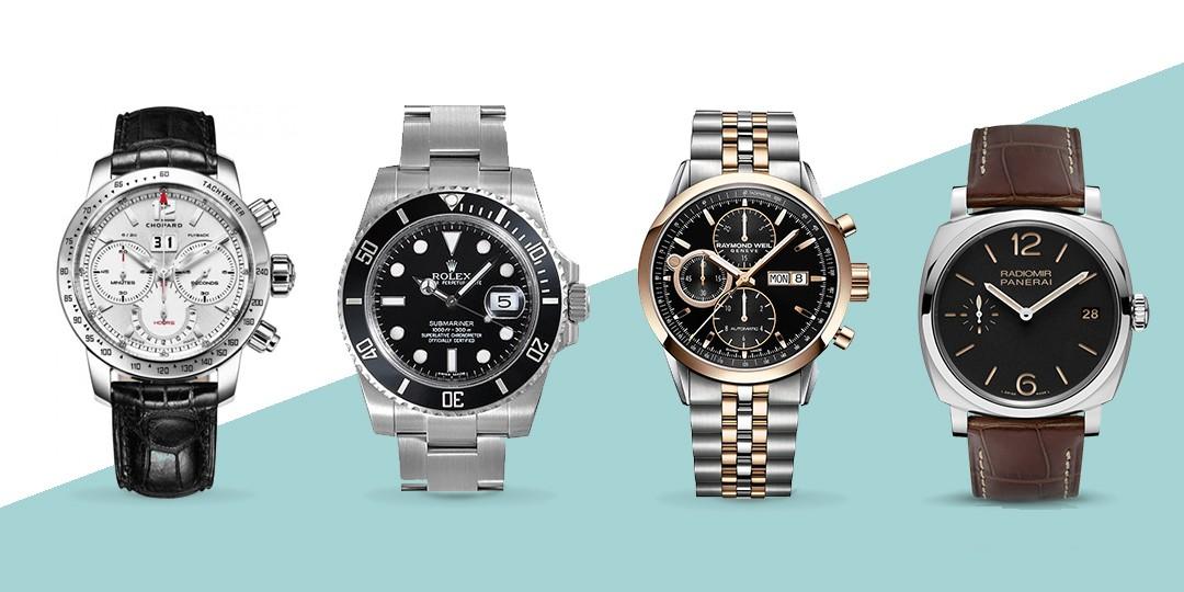estilos y tipos de relojes